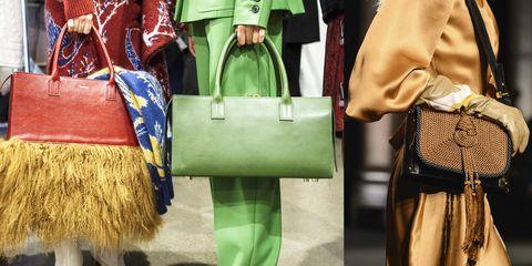 Le borse sono imprescindibili  per la moda autunno inverno 2018 ci sono  almeno 10 trend 4da0a394104