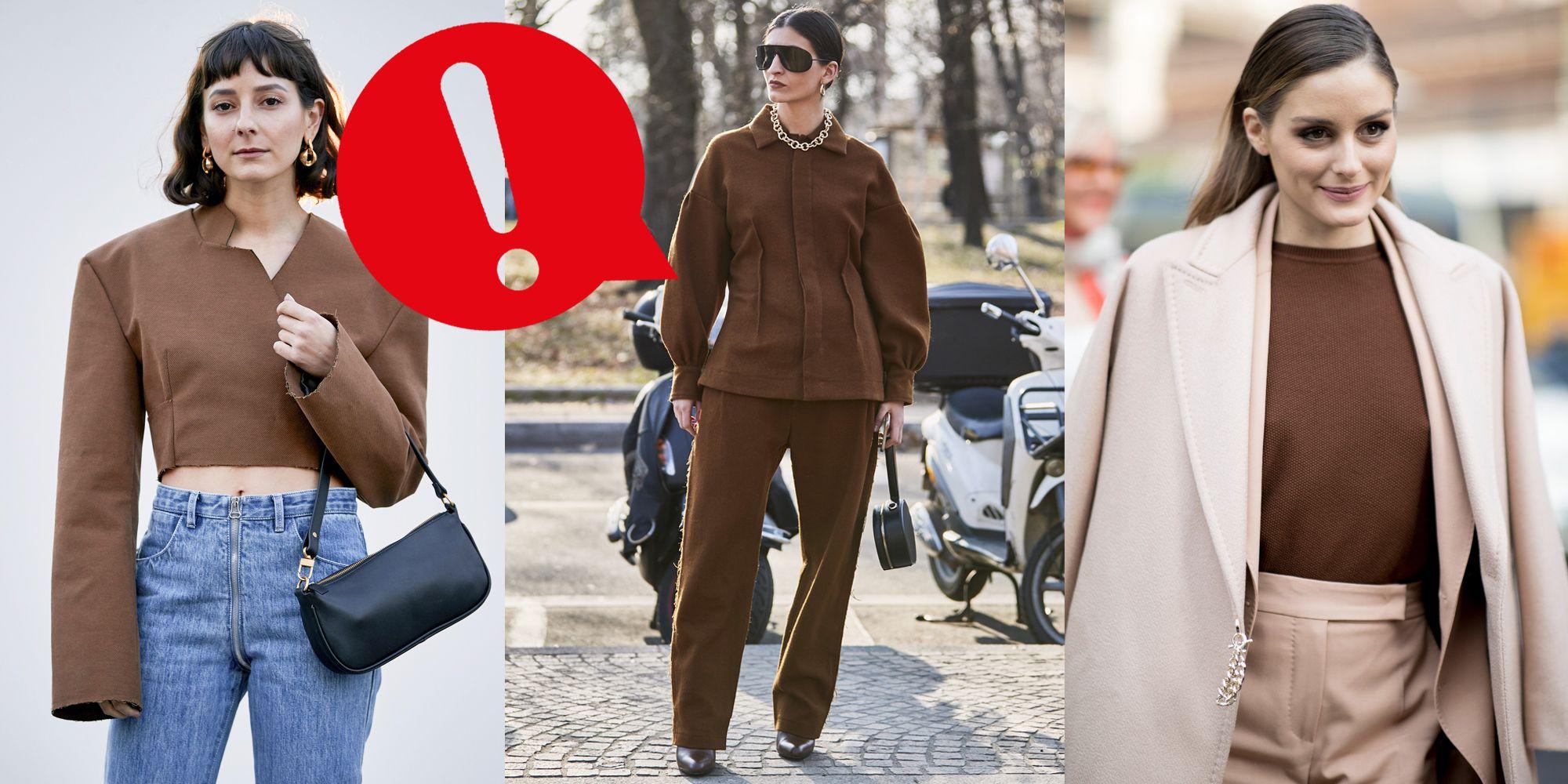 Marrone 2019Colore Senza Primavera Moda Estate Fashion CxeBoQWErd
