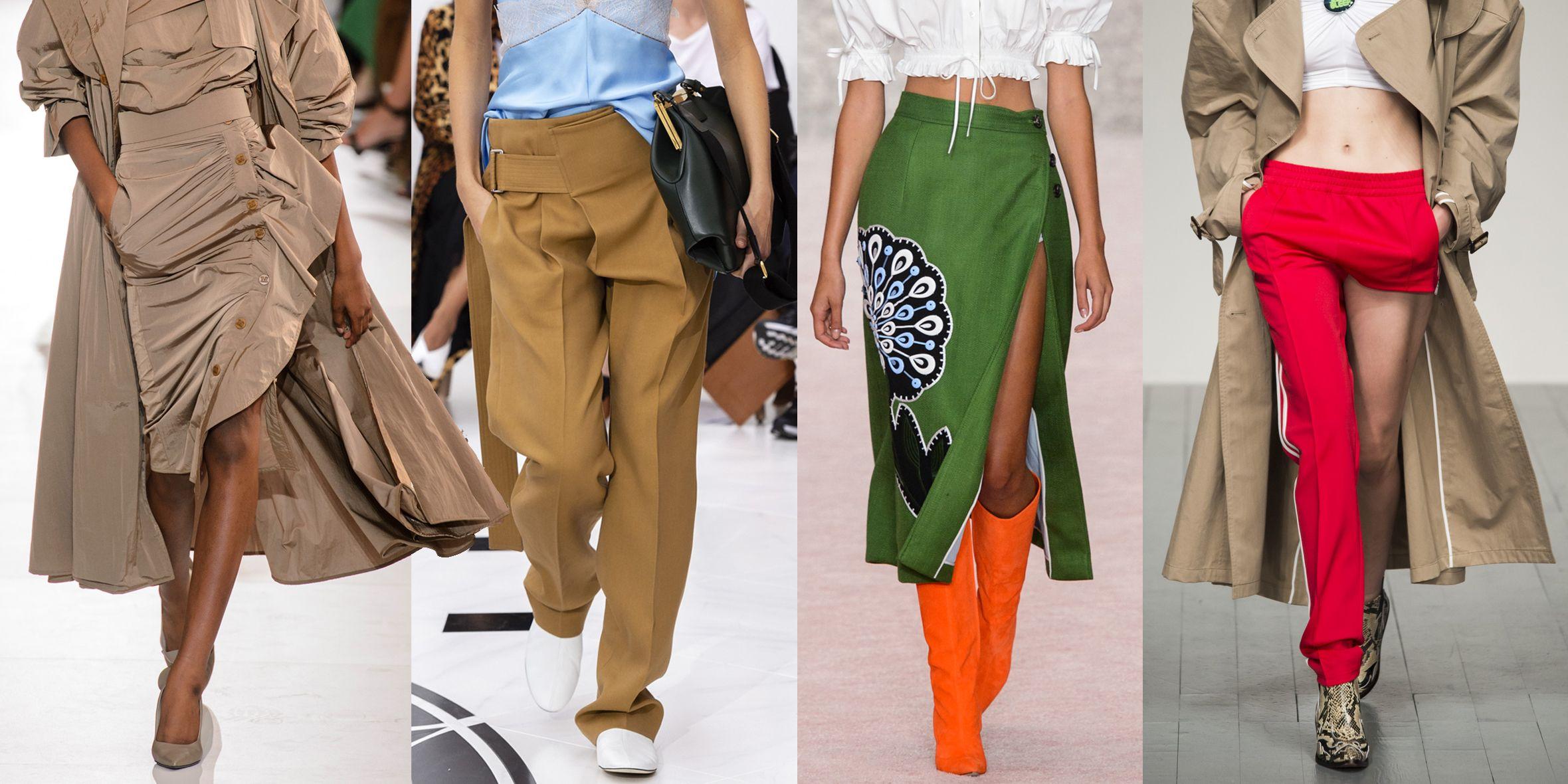 Non solo vestiti bellissimi la prossima primavera estate 2019 ma anche  pantaloni e gonne da indossare