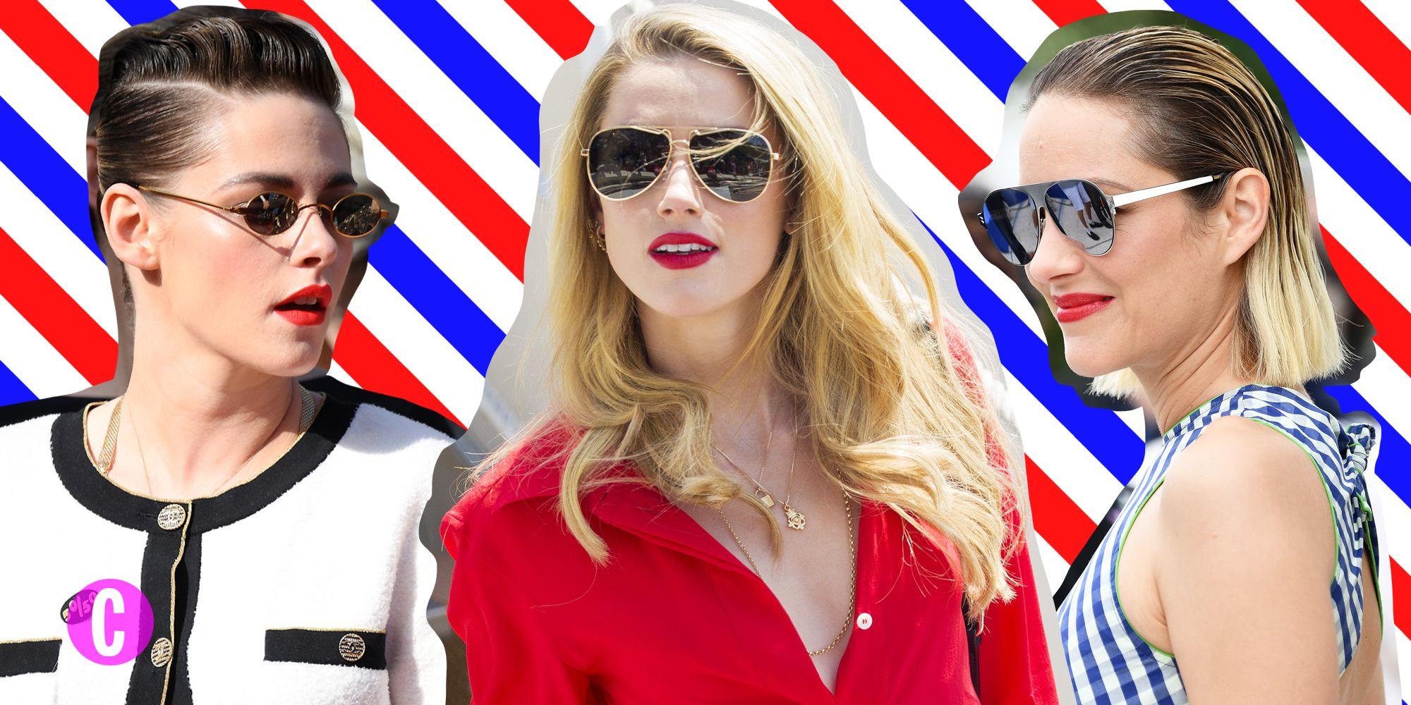 Gli occhiali da sole delle star avvistati sulla croisette di Cannes sono i più cool dellestate 2019