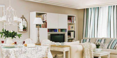 Cómo decorar un salón rectangular