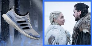 Le scarpe adidas dedicano una capsule di 6 modelli Ultraboosta Game of Thrones 8, sneakers altamente performanti customizzate con i riferimenti alle varie fazioni di Westeros in lotta l'una contro l'altra.