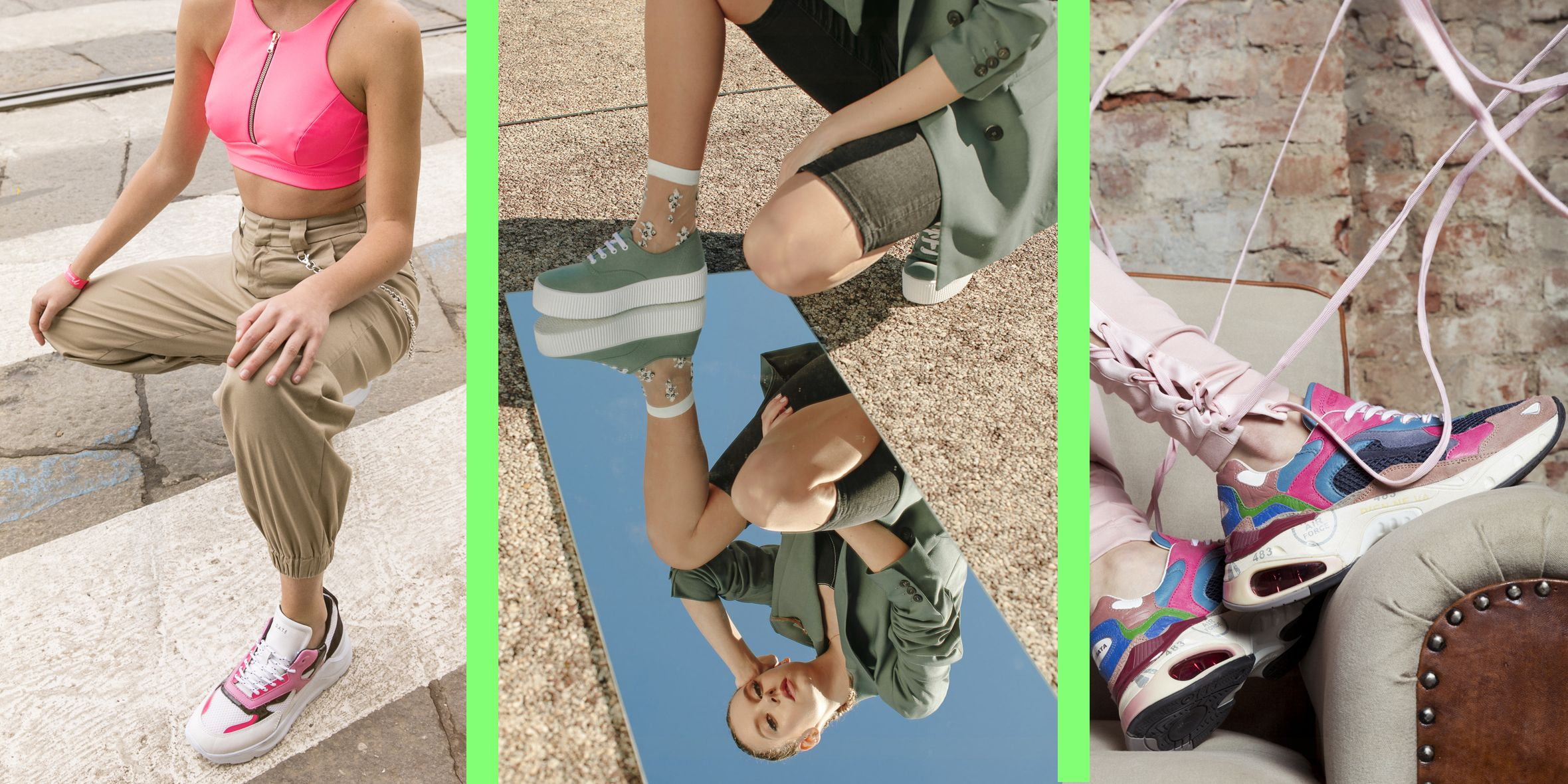 Scarpe moda primavera 2019, le nuove sneakers chunky