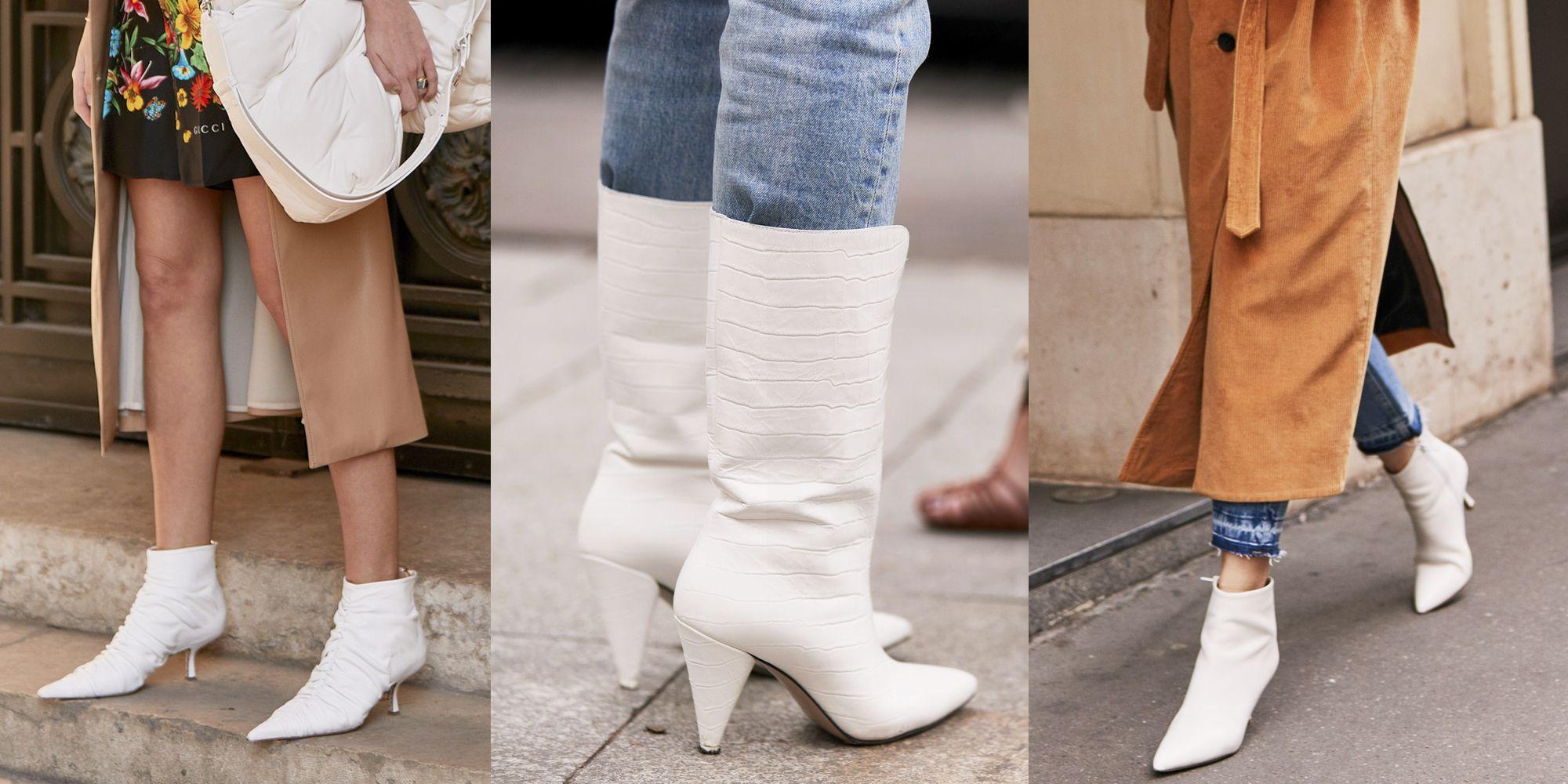 Ti sveliamo la nuova tendenza per gli stivali estivi 2019, sono bianchi e  super sensuali