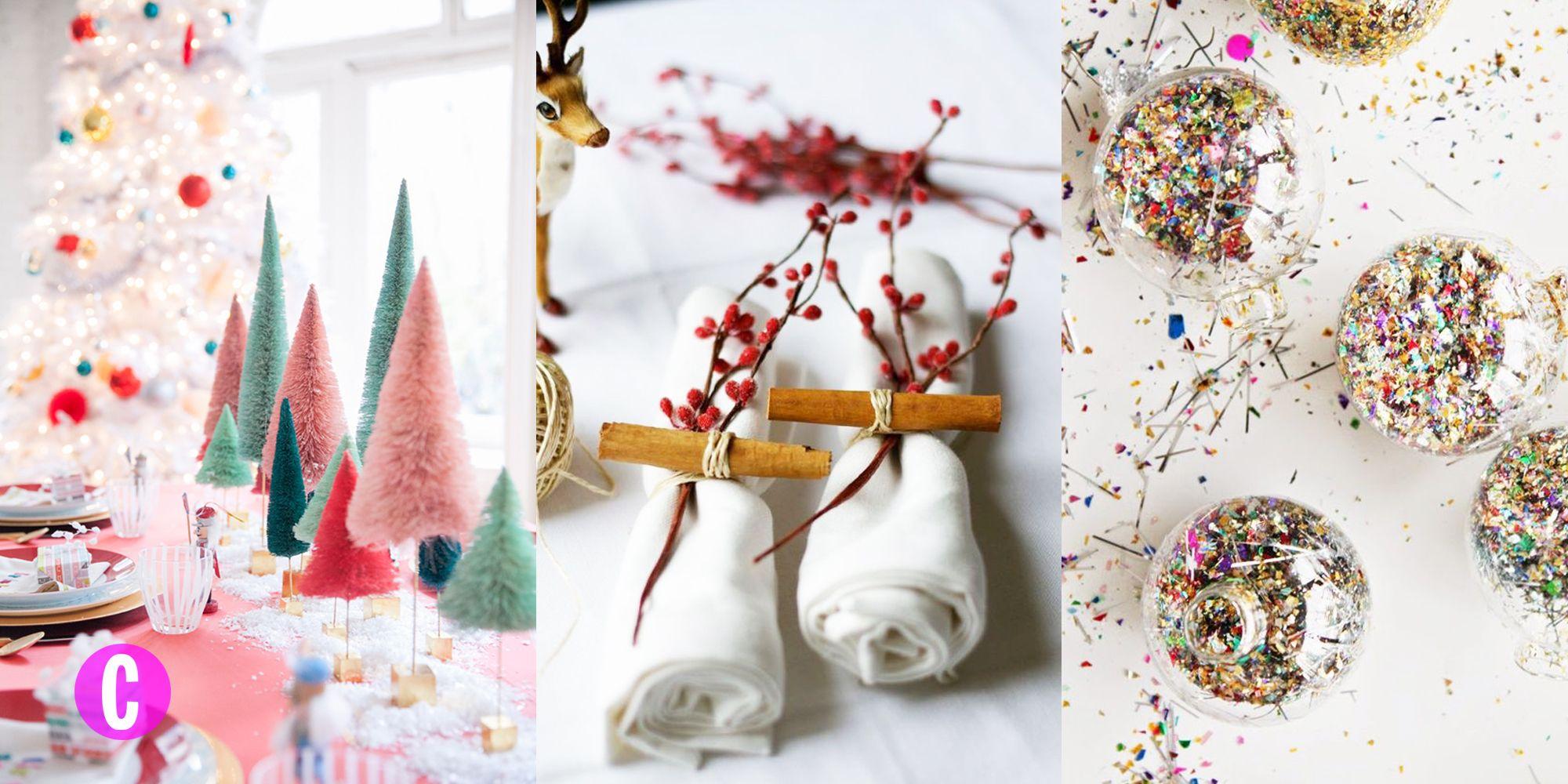 Se a cucinare ci pensa il resto della family, prendi in carico l'allestimento della tavola di Natale con le idee e decorazioni DIY.