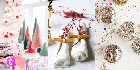 Decorazioni Natalizie Tavola.Con 15 Idee Giuste Per La Tavola Di Natale Fai Svoltare Pranzi E Cenoni