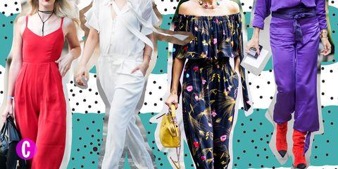 new concept 6d247 9cfcb Tuta elegante: come si indossa, 21 outfit moda estate 2018