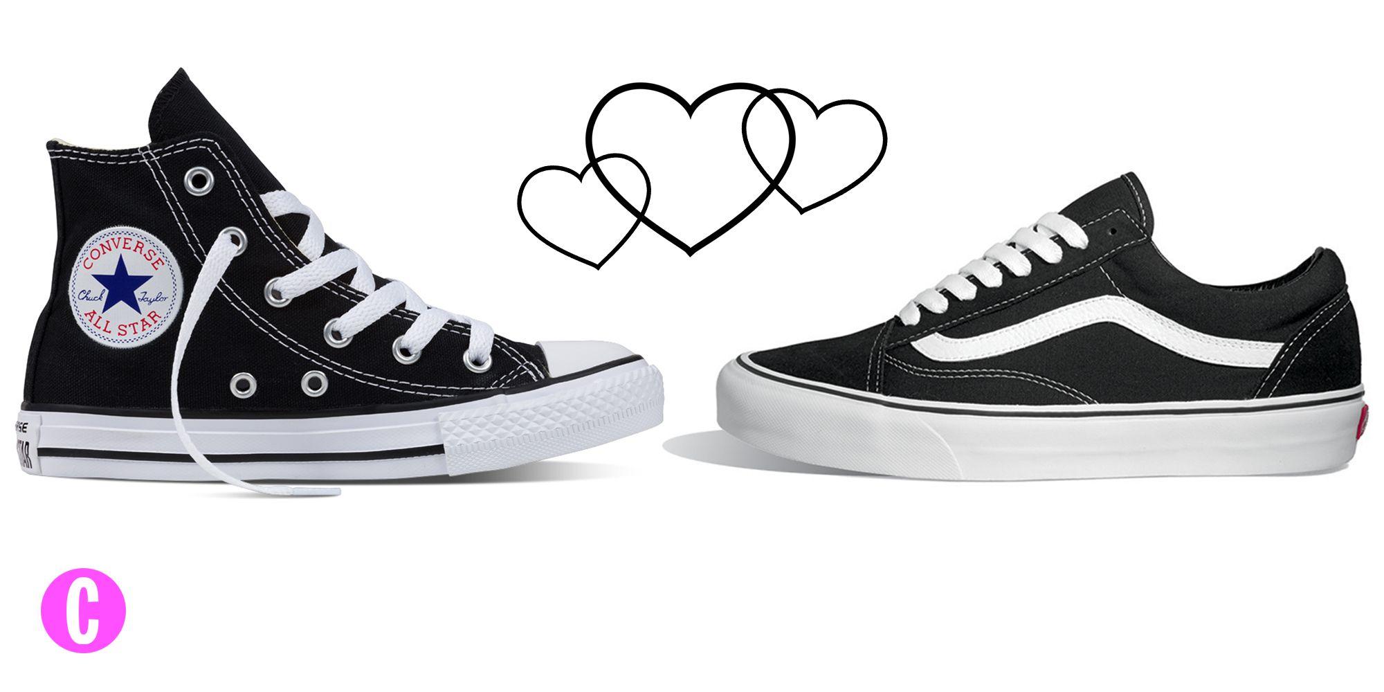 Le sneakers dicono di te molto di più di quello che pensi: tra Vans Old Skool e Converse Chuck Taylor, due modelli mitici, quale scegli?