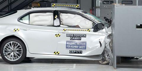 Toyota Camry Penger S Side Offset Crash Test