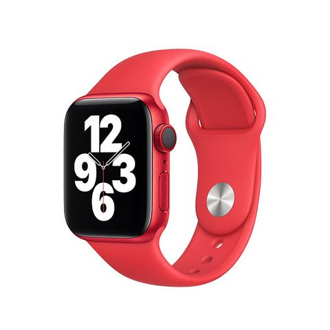apple watch sport band product red