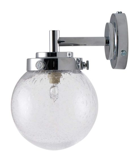 Aplique mini globo de pared