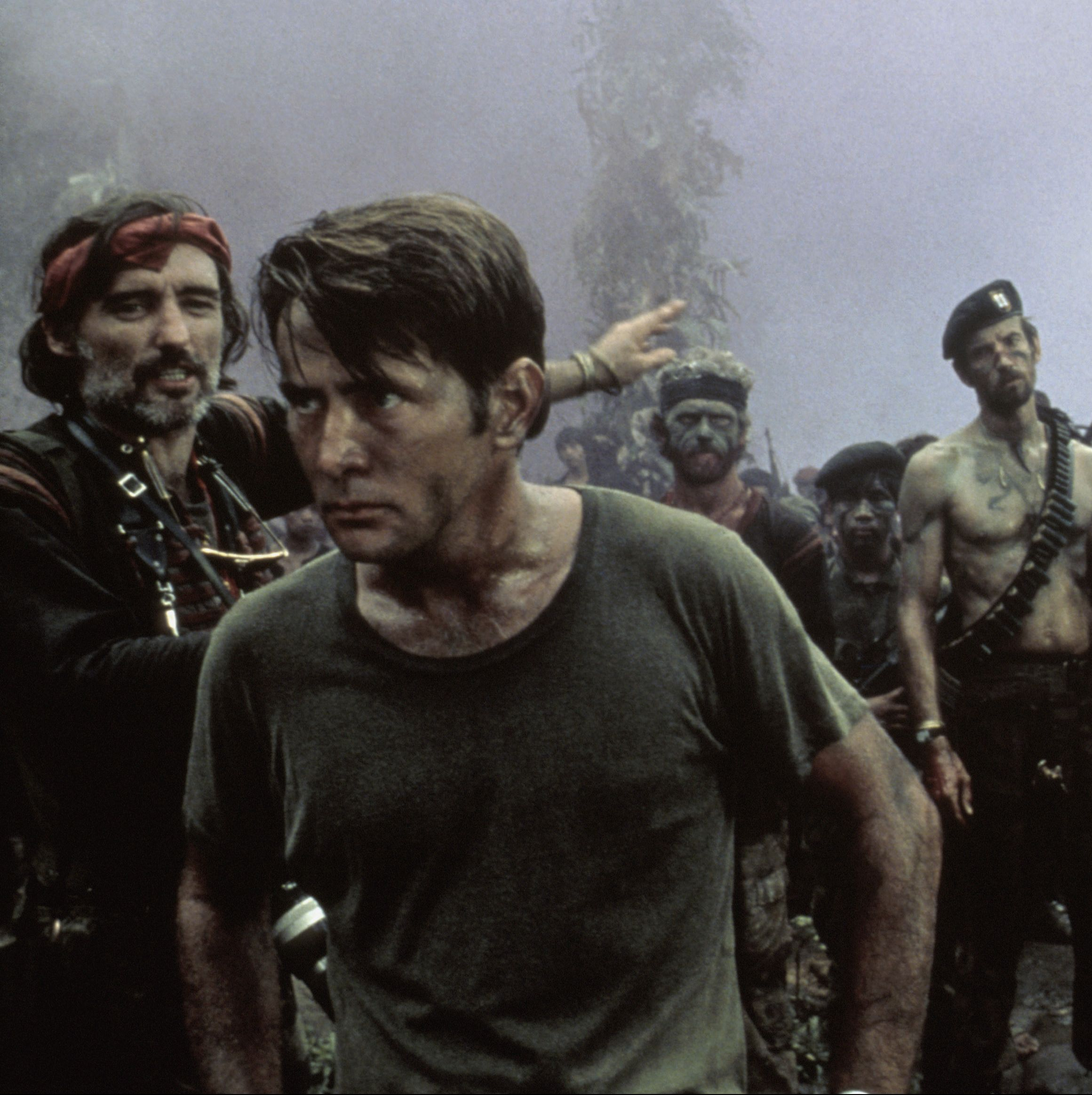 Apocalypse Now Martin Sheen stars as a disaffected Army captain who is tasked with a secret mission to go deep into the jungle and take out a Green Beret Colonel named Kurtz (Marlon Brando), who has gone rogue and established himself as a local god.