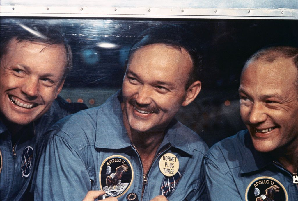 Michael Collins Is the Forgotten Astronaut of Apollo 11. He's Perfectly Fine With That.