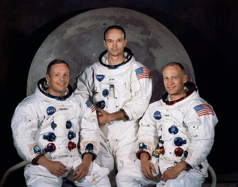 apollo 11 astronaut official portrait