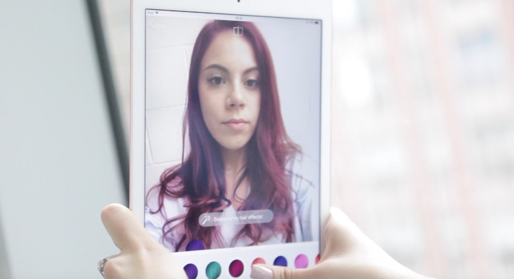 App para cambiar color de cabello online
