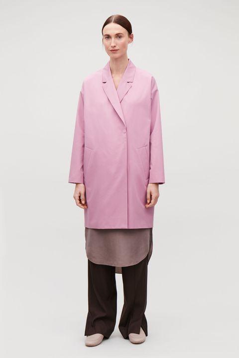 Cos coat pink