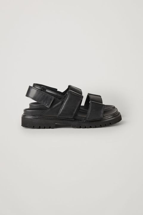Cos leather chunky sandals
