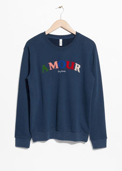 Clothing, Long-sleeved t-shirt, Sleeve, Blue, T-shirt, Outerwear, Shirt, Sweatshirt, Top, Sweater,