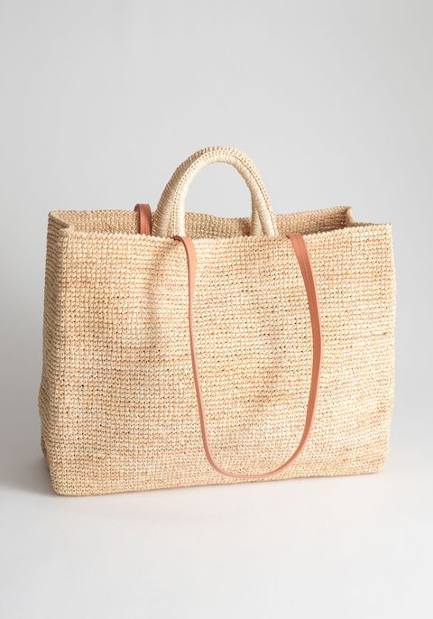 & Other Stories straw bag