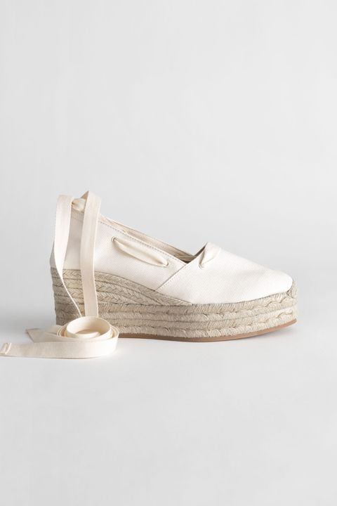 & Other Stories espadrille wedges