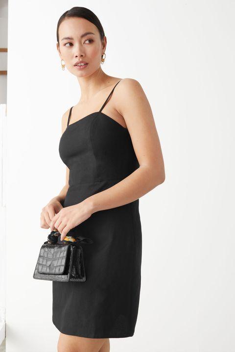 other stories linen blend mini dress £55