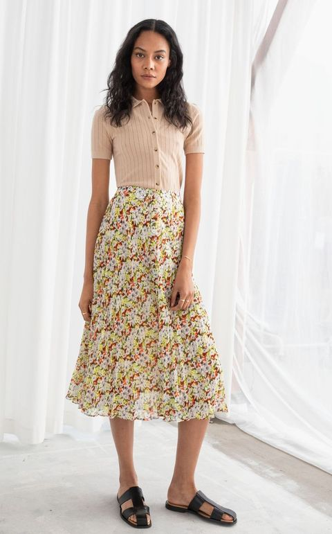8463f0410 The skirt version of Kate Middleton's sell-out & Other Stories dress ...