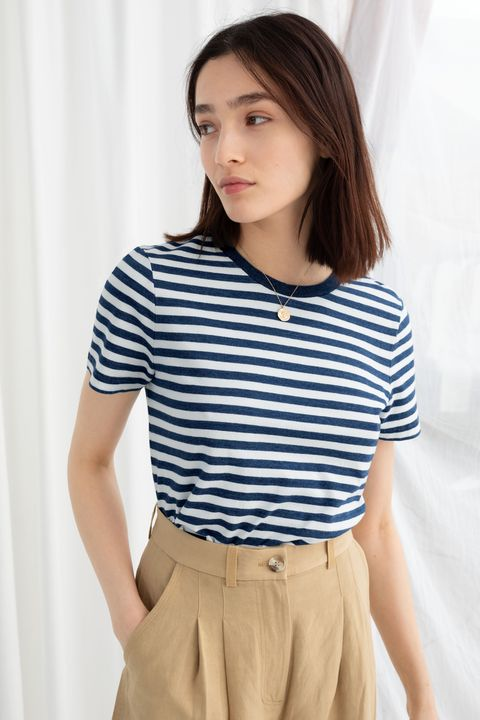 and other stories sale striped breton t shirt