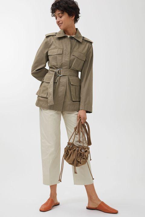 Arket belted utility jacket