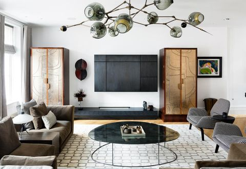 Living room, Room, Furniture, Interior design, Ceiling, Coffee table, Property, Table, Wall, Couch,