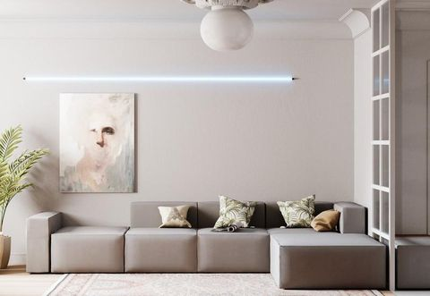 Living room, Room, Furniture, Interior design, Wall, Property, Floor, Sofa bed, Couch, Ceiling,