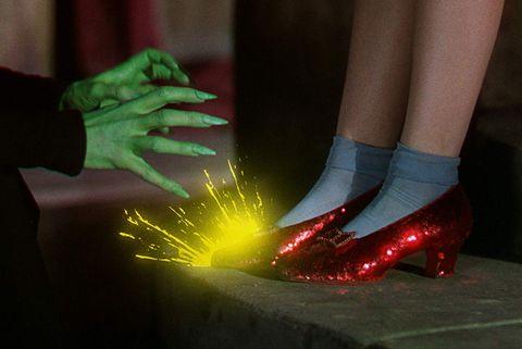 Red, Green, Footwear, Human leg, Shoe, Light, Leg, Hand, Ankle, Nail,