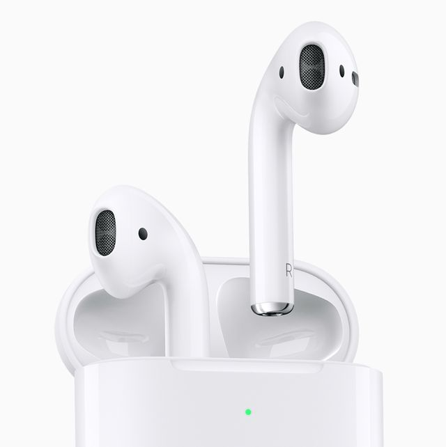 apple airpods in a case