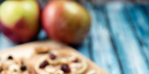 Food, Cuisine, Dish, Ingredient, Produce, Recipe, Flatbread, Apple, Finger food, Baked goods,