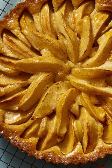 apple and pear tart
