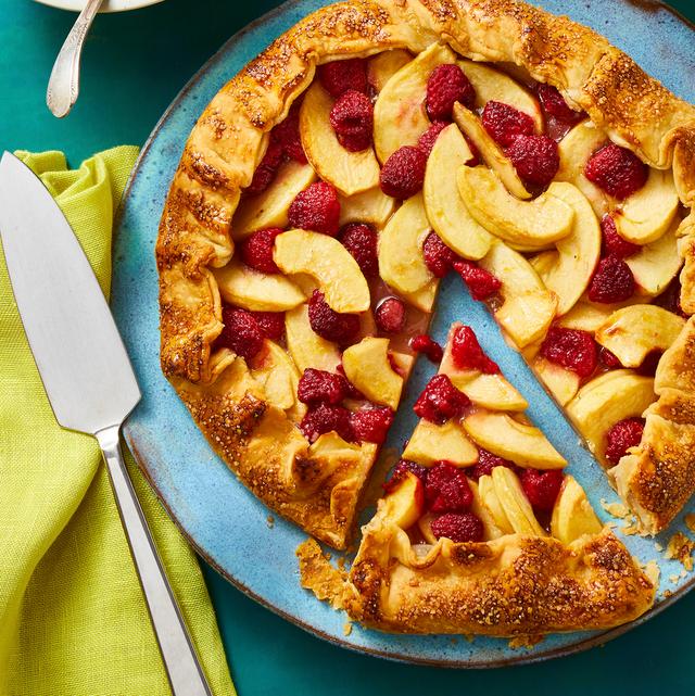 apple and raspberry galette recipe