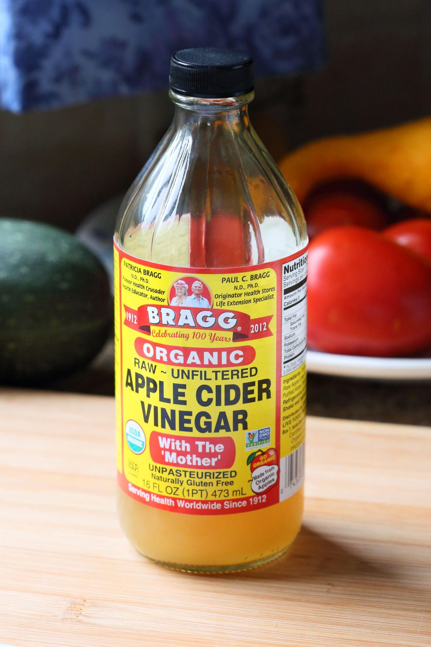 apple cider vinegar good probiotic foods