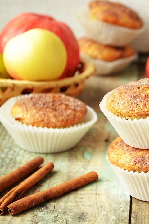 Brown Sugar Apple Muffins
