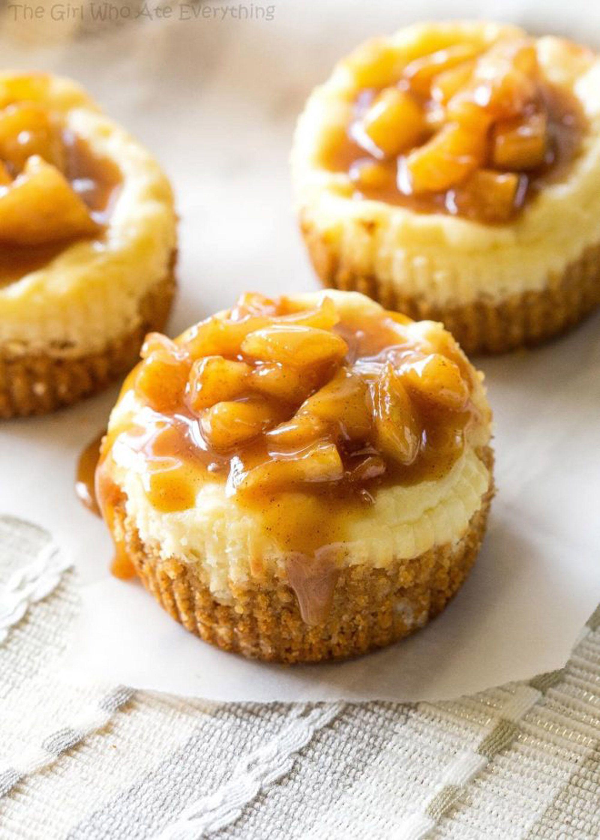 apple desserts cheesecakes