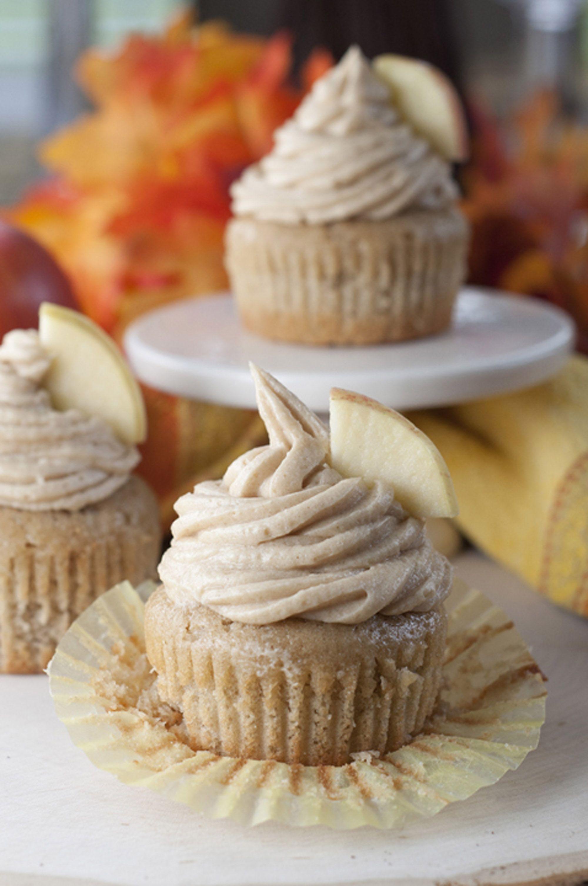 apple desserts cupcakes