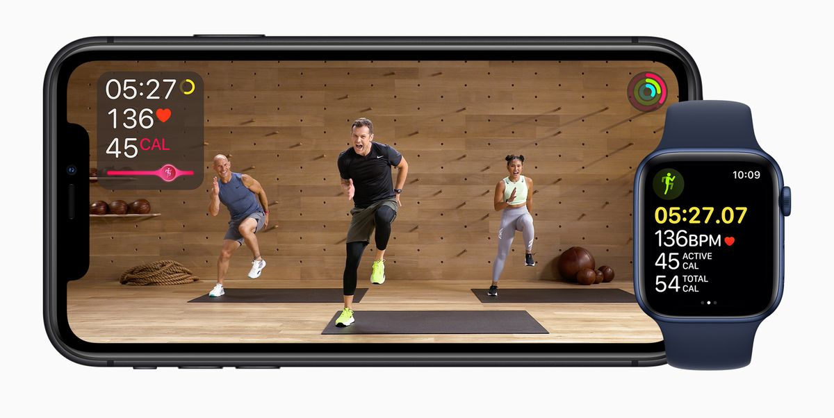 An Exclusive Look Behind Apple Fitness+