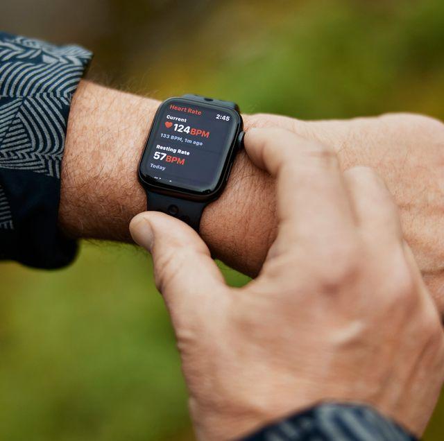 apple watch met heart rate functie