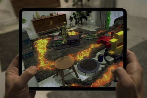 new iPad Pro virtual reality games