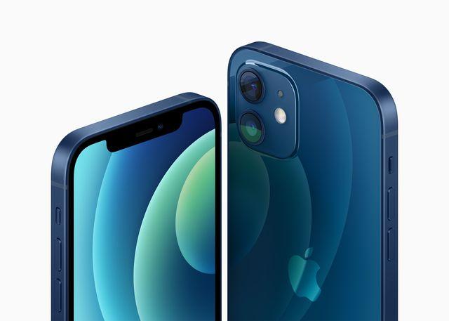 blue apple iphone 12 october 2020