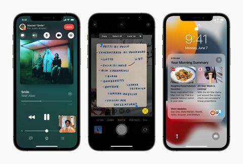 apple, apple更新, facetime, ios, ios14, ios15, ios更新, 健康紀錄, 備忘錄, 地圖, 蘋果ios15, 跌倒紀錄