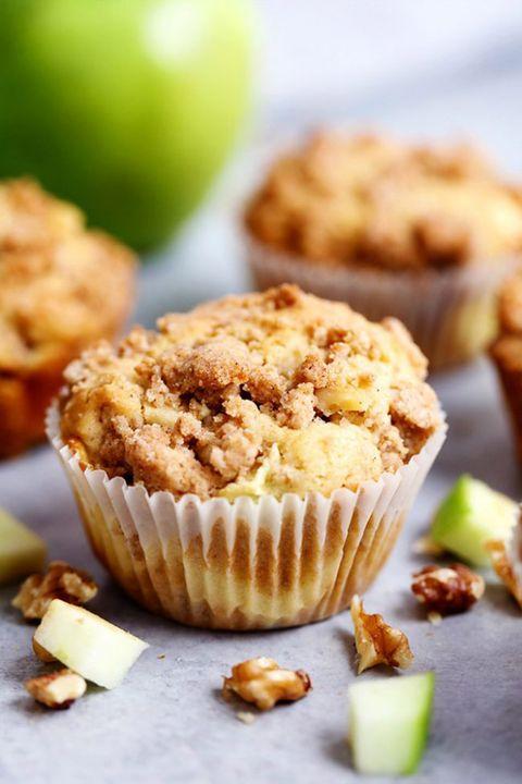 apple muffins cream cheese