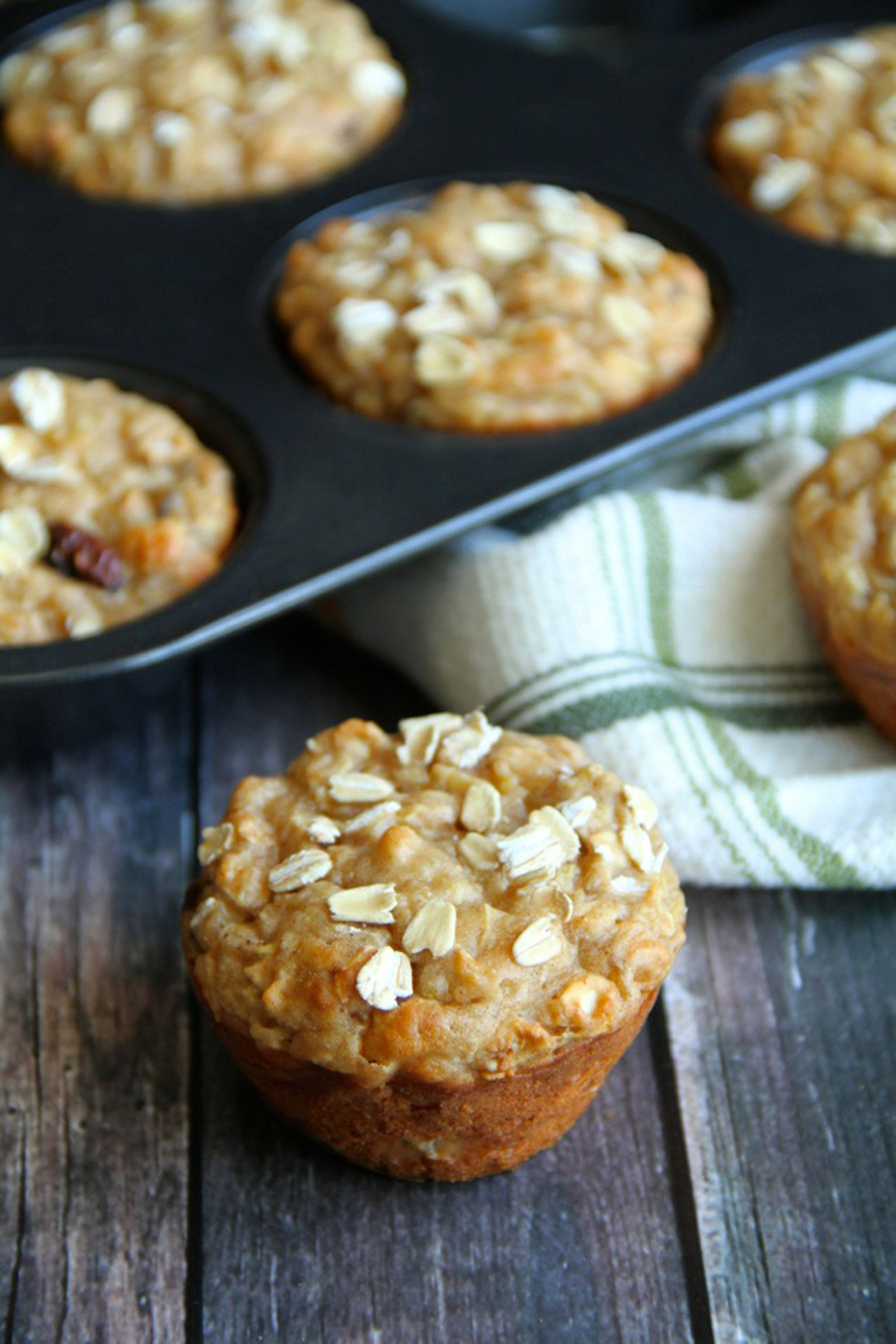 apple muffins oat