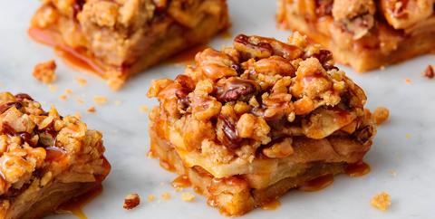 apple pie bars  delishcom
