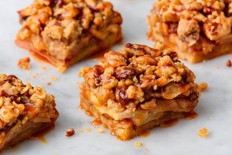 Best Apple Pie Bars Recipe - How to Make Apple Pie Bars