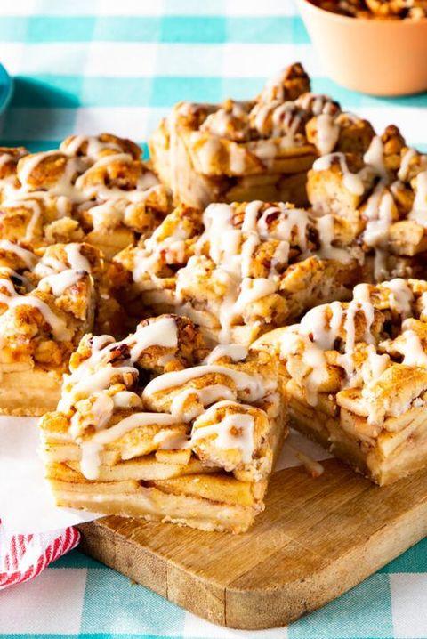 apple pie bars thanksgiving desserts