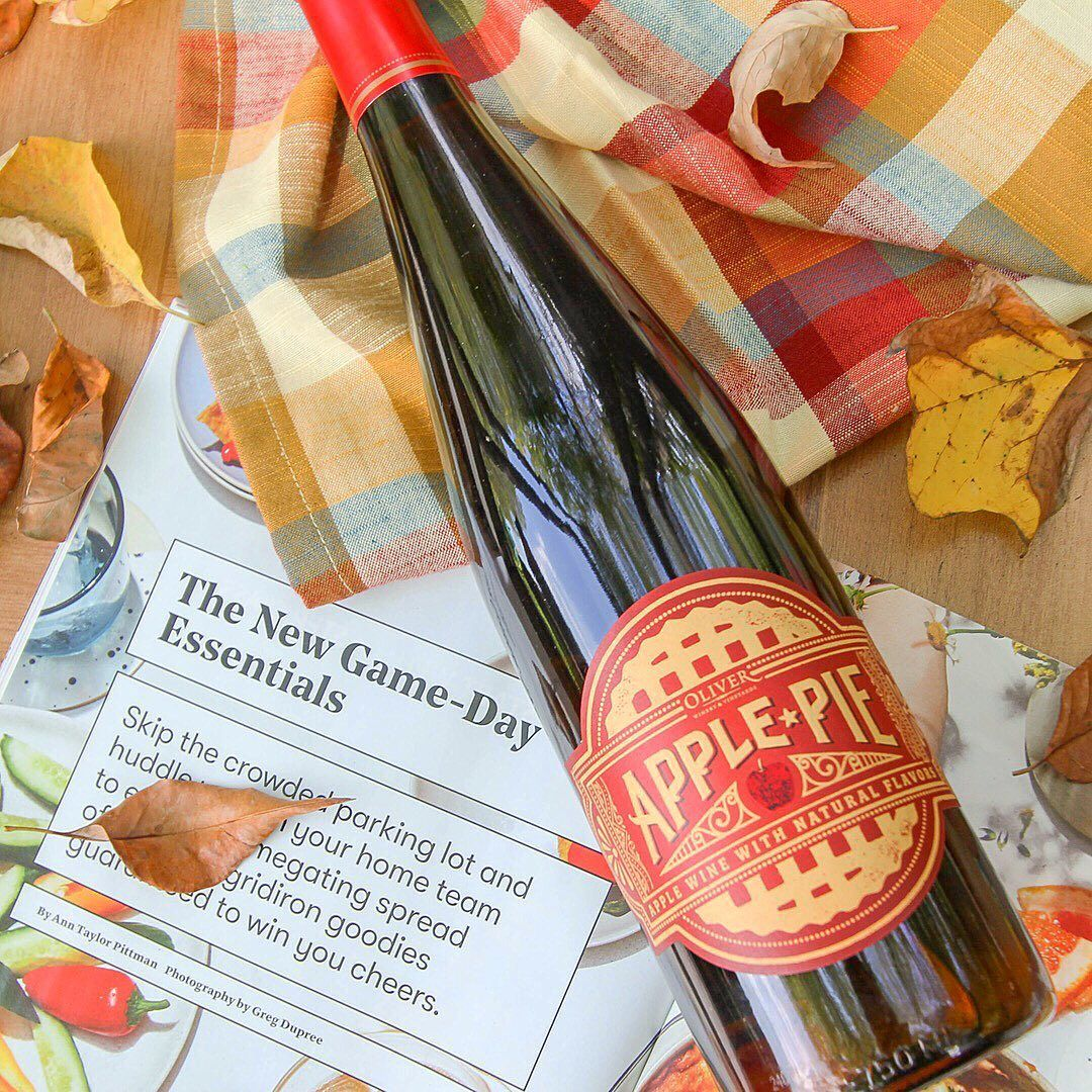 Oliver Vineyards Created A Fall Wine That Tastes Just Like Apple Pie